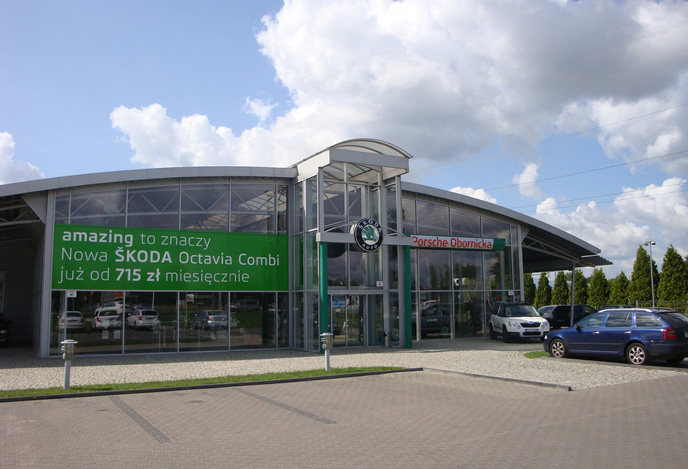 Salon volkswagen poznan